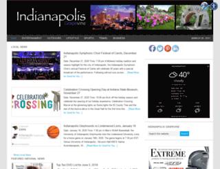 indianapolisgrapevine.com screenshot