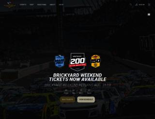 indianapolismotorspeedway.com screenshot
