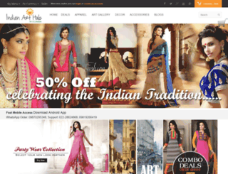 indianarthub.com screenshot