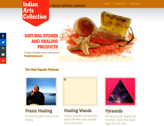 indianartscollection.com screenshot