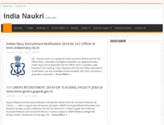 indianaukri9.in screenshot