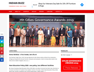 indianbuzz.com screenshot