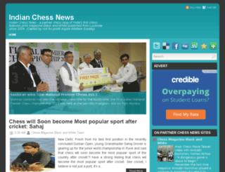 indianchessnews.com screenshot
