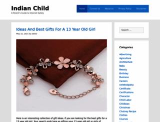 indianchild.com screenshot
