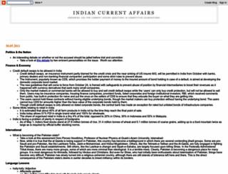 indiancurrentaffairs.blogspot.com screenshot