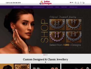 indiandesigns.com screenshot