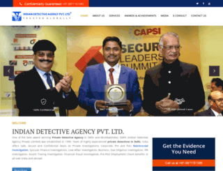 indiandetectiveagency.com screenshot