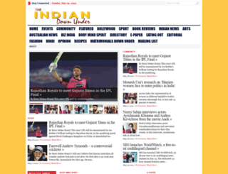 indiandownunder.com.au screenshot