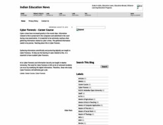 indianeducationnews.blogspot.com screenshot