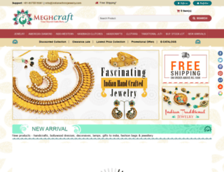 indianethnicjewelry.com screenshot