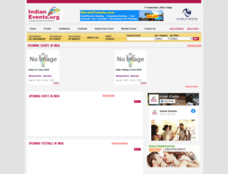indianevents.org screenshot