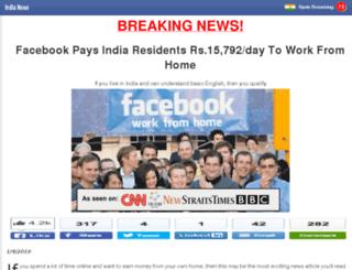 indianews.com-n1n5ln292v870uhj39gdjan2.club screenshot