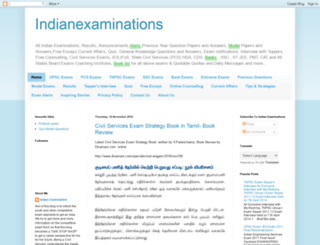 indianexaminations.blogspot.com screenshot