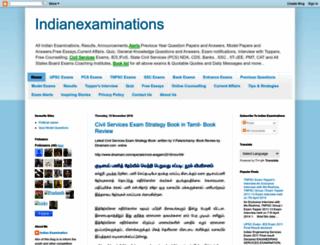 indianexaminations.blogspot.in screenshot