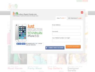 indianexportcenter.com screenshot