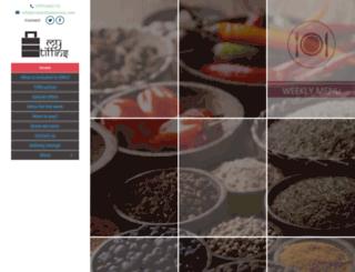 indianfoodservice.com screenshot