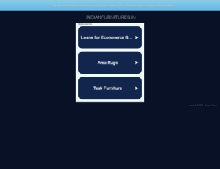 indianfurnitures.in screenshot