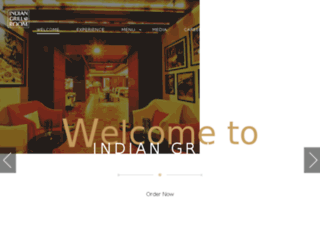 indiangrillroom.com screenshot