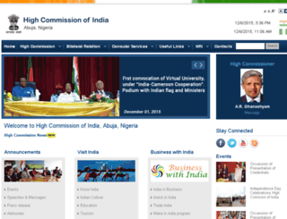 indianhcabuja.com screenshot