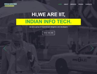 indianinfotech.in screenshot