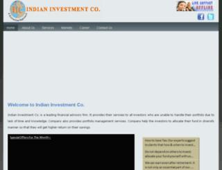 indianinvestment.net screenshot