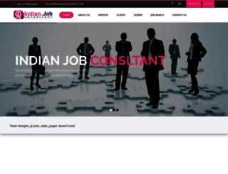 indianjobconsultant.com screenshot