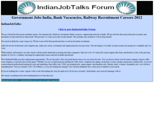 indianjobtalks.com screenshot