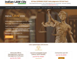 indianlawcds.com screenshot