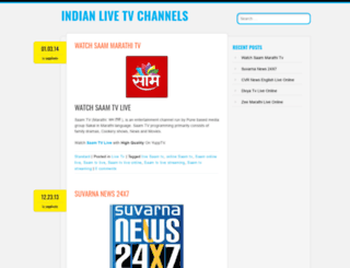 indianlivechannels.wordpress.com screenshot