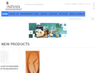 indianmanagement.co screenshot