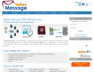 indianmessage.com screenshot