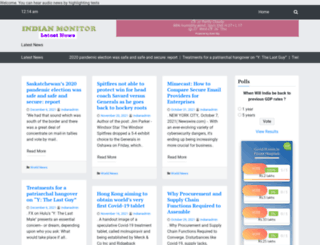 indianmonitor.com screenshot