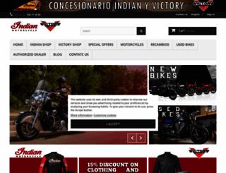 indianmoto.es screenshot