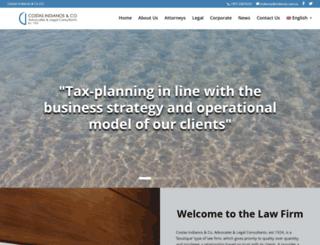 indianos.com.cy screenshot