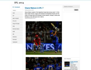 indianpremierleague-2013.blogspot.com screenshot