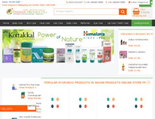 indianproductsonnet.fr screenshot