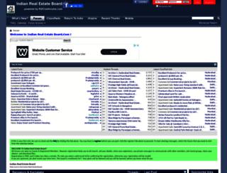 indianrealestateboard.com screenshot