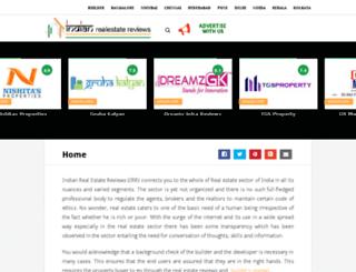 indianrealestatereviews.com screenshot