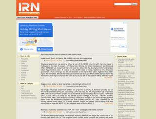 indianrealtynews.com screenshot