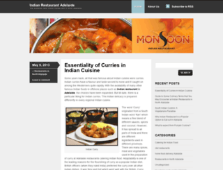indianrestaurantadelaide.wordpress.com screenshot