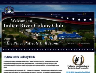 indianrivercolonyclub.com screenshot