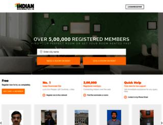 indianroommates.in screenshot
