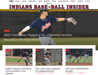indiansbaseballinsider.com screenshot