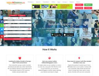 indiansinsingapore.net screenshot