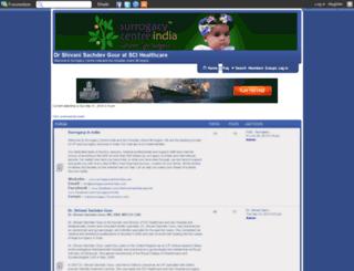 indiansurrogacy.forumsmotion.com screenshot