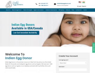 indiansurrogates.com screenshot