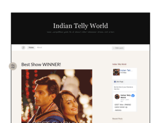 indiantellyworld.wordpress.com screenshot
