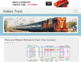 indiantrain.bravesites.com screenshot