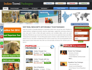 indiantravelpackages.com screenshot