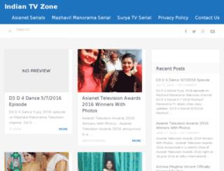 indiantvzone.com screenshot
